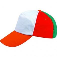 Καπέλο αμερικάνικο παιδικό πολύχρωμο