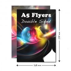 Flyers A5 διπλής όψεως